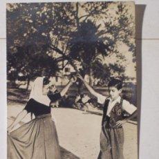 Postales: TARJETA POSTAL DE VALLDEMOSA (DANZAS TIPICAS). Lote 12521951