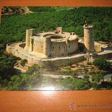 Postales: MALLORCA (ESPAÑA)PALMA.-CASTILLO DE BELIVER.VISTA AEREA.-EDICIONES PALAMA. Lote 12527772