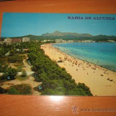 Postales: PUERTO DE ALCUDIA .MALLORCA.-EDION FLOR DE ALMENDRO.-CIRCULADA. Lote 12528363