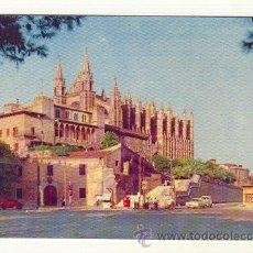 Postales: PALMA LA CATEDRAL. Lote 25668483