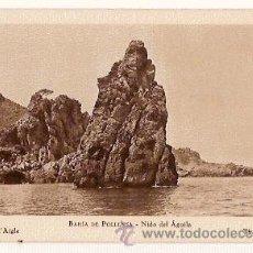 Postales: ANTIGUA POSTAL BAHIA DE POLLENSA NIDO DEL AGUILA HUECOGRABADO MUMBRU COLECCION BESTARD . Lote 13833823