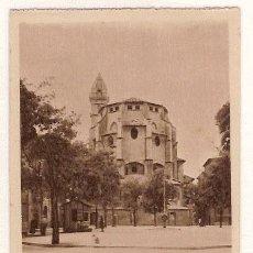 Postales: ANTIGUA POSTAL MALLORCA BASILICA DE SAN FRANCISCO PARTE POSTERIOR HAUSER Y MENET. Lote 12822458