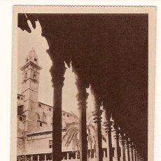 Postales: ANTIGUA POSTAL MALLORCA CLAUSTRO DE SAN FRANCISCO CAMPANARIO DE LA BASILICA HAUSER Y MENET. Lote 12822563