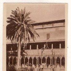 Postales: ANTIGUA POSTAL MALLORCA CLAUSTRO DE SAN FRANCISCO CISTERNA HAUSER Y MENET. Lote 12822594