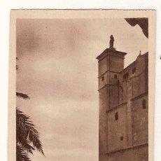 Postales: ANTIGUA POSTAL MALLORCA CLAUSTRO SAN FRANCISCO SAN FRANCISCO Y TORRES DE LA CATEDRAL HAUSER Y MENET. Lote 12822613