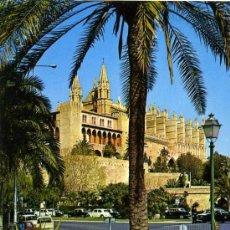 Postales: CATEDRAL DE (PALMA DE MALLORCA )+ POSTALES Y MUCHO + EN MI TIENDA. Lote 12935493