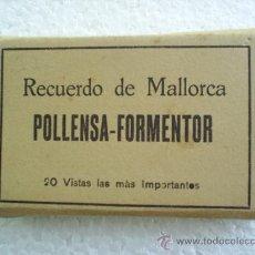 Postales: MINI ACORDEON -DE 20 VISTAS -POLLENSA -FORMENTOR -MALLORCA. Lote 15299845