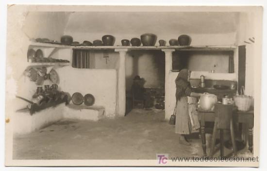 Antigua postal fotografia mallorca cocina mallo comprar - Fotos de cocinas antiguas ...