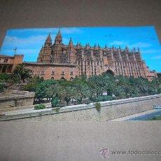 Postales: TARJETA POSTAL: CATEDRAL DE PALMA DE MALLORCA. CIRCULADA 1983. CON SELLO 10 PTA PERRO PERDIGUERO.. Lote 14262211