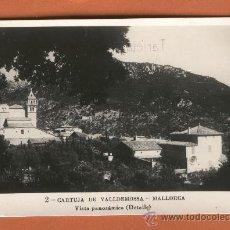 Postales: UNA POSTAL DE MALLORCA CARTUJA DE VALLDEMOSA ESCRITA INDUSTRIAL DE VALENCIA VER FOTOS . Lote 14460607
