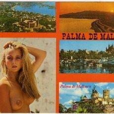 Postales: BONITA POSTAL - PALMA DE MALLORCA - VARIAS VISTAS DIFERENTES . Lote 14685095