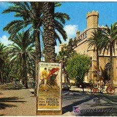 Postales: BONITA POSTAL - PALMA DE MALLORCA - PASEO DE SAGRERA Y LONJA . Lote 26462936