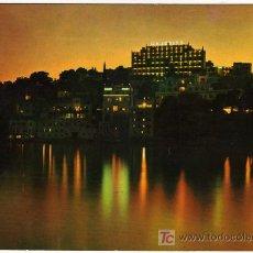 Postales: BONITA POSTAL - PALMA DE MALLORCA - VISTA NOCTURNA DE LA BAHIA Y EL HOTEL MAJORICA . Lote 14685554