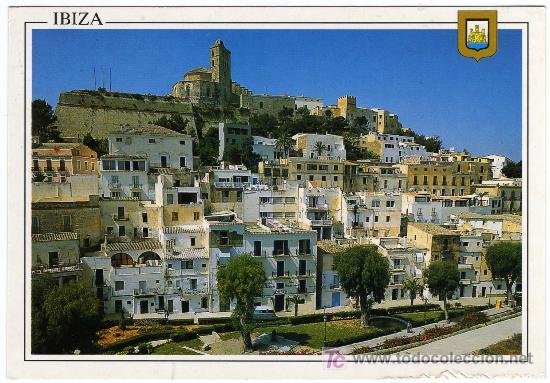 BONITA POSTAL - IBIZA (BALEARES) - VISTA DE ISLA BLANCA (Postales - España - Baleares Moderna (desde 1.940))