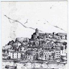 Postales: PRECIOSA POSTAL - IBIZA (BALEARES) - EL PUERTO . Lote 17652857