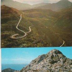 Postales: MALLORCA - CARRETERA DE SA CALOBRA - 3 VISTAS -. Lote 14877709
