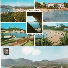 Postales: MALLORCA - CALA RATJADA - 2 POSTALES -. Lote 14877859