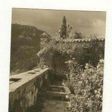 Postales: MALLORCA VALLDEMOSA JARDÍN DE LA CELDA MUSEO CHOPIN. Lote 25543823