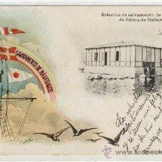 Postales: (PS-13072)POSTAL DE PALMA DE MALLORCA-ESTACION DE SALVAMENTO DE NAUFRAGOS. Lote 15064632