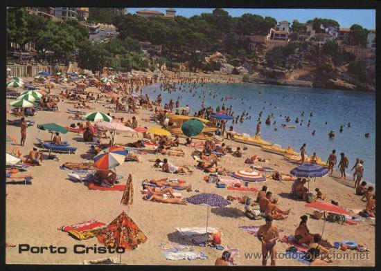 S-1306- MALLORCA. PORTO CRISTO (Postales - España - Baleares Moderna (desde 1.940))