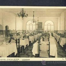 Postales: POSTAL DE PALMA DE MALLORCA (ILLES BALEARS): HOTEL CATALONIA, MENJADOR (ED.LP). Lote 15259015