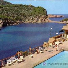 Postales: IBIZA - SAN MIGUEL - DETALLE PUERTO - CASA FIGUERETAS 1971. Lote 15296719