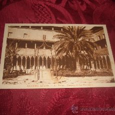 Postales: MALLORCA -PALMA CLAUSTRO DE SAN FRANCISCO. Lote 15428079