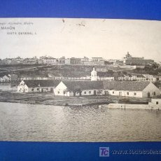 Postales: ANTIGUA POSTAL MENORCA MAHÓN. VISTA GENERAL I. HAUSER&MENET. REMIGIO ALEJANDRE.. Lote 25251326