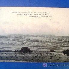 Postales: ANTIGUA POSTAL MENORCA MAHÓN. FORTALEZA ISABEL II LA MOLA. HAUSER&MENET. REMIGIO ALEJANDRE. Lote 24996699