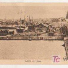 Postales: MALLORCA. PUERTO DE PALMA. (SERIE TRUYOL). POSTAL DOBLE. . Lote 15683303