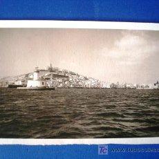 Postales: POSTAL FOTOGRÁFICA ANTIGUA IBIZA. IBIZA FARO. Lote 25656300
