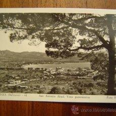 Postales: IBIZA ( BALEARES ) - 61 - SAN ANTONIO ABAD - VISTA PANORÁMICA - FOTO VIÑETS. Lote 27361152