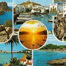 Postales: IBIZA (ISLAS BALEARES) - DIVERSOS ASPECTOS. Lote 15888358
