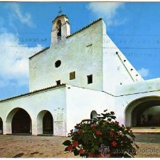 Postales: IBIZA - IGLESIA DE SAN JOSE - POSTALES DURA VELASCO - CIRCULADA 1974. Lote 16031272