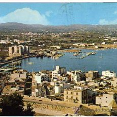 Postales: IBIZA - N.102 VISTA GENERAL - POSTALES DURA VELASCO - CIRCULADA 1974. Lote 16031583