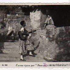 Postales: MALLORCA - R:115 - ESCENA TÍPICA - DANSADORS DE LA VALL D'OR - ROTGER - ZERKOVITZ. Lote 16168219