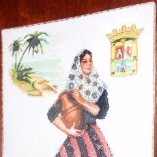 Postales: POSTAL BALEARES BORDADA. Lote 22720615