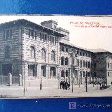 Postales: POSTAL ANTIGUA MALLORCA. FACHADA PRINCIPAL NUEVO INSTITUTO. THOMAS.. Lote 25671569
