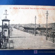 Postales: POSTAL ANTIGUA MALLORCA VISTA DEL PUERTO.. Lote 25615244