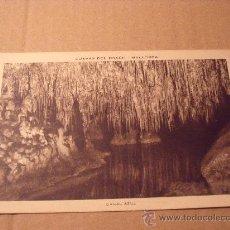 Postales: ANTIGUA POSTAL DE CUEVAS DEL DRACH. CANAL AZUL. SIN CIRCULAR. POSTAL 274. Lote 16565696