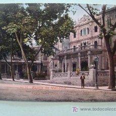 Postales: ANTIGUA POSTAL. AÑOS 1910 - 1920. NR 37 PALMA DE MALLORCA, CAFÉ Y TEATRO LÍRICO.. Lote 17502438