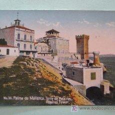 Postales: ANTIGUA POSTAL. AÑOS 1910 - 1920. NR 50. PALMA DE MALLORCA, TORRE DE PELAIRES.. Lote 17502506