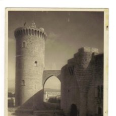 Postales: 5403.- MALLORCA - PALMA - ENTRADA AL CASTILLO DE BELLVER - FOTO ZERKOWIRT . Lote 27528848
