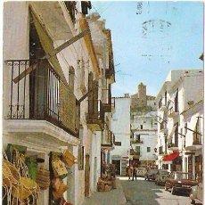 Postales: IBIZA CIUDAD - CALLE TIPICA- -Nº 246- CASA FIGUERETAS. 1970 - VELL I BELL. Lote 17741089