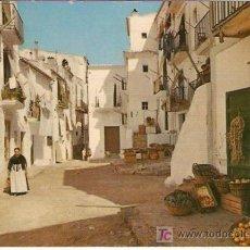 Postales: IBIZA CIUDAD - CALLE TIPICA CON TIENDA COMESTIBLES- CASA FIGUERETAS. 1962 - VELL I BELL. Lote 25185130