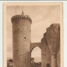 Postales: MALLORCA - CASTILLO DE BELLVER - TORRE DEL HOMENAJE. Lote 18057793