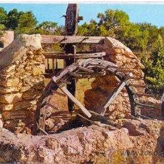 Postales: TARJETA POSTAL DE IBIZA NORIA ANTIGUA ISLAS BALEARES. Lote 18549649