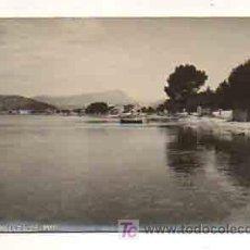 Postales: MALLORCA. PUERTO DE POLLENSA. (POSTAL FOTOGRÁFICA) (TRUYOL). Lote 18961029