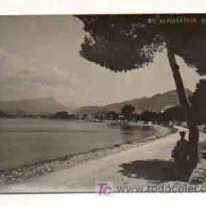 Postales: MALLORCA. PUERTO DE POLLENSA. (POSTAL FOTOGRÁFICA) (TRUYOL). Lote 18961034