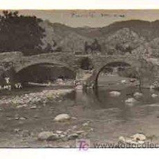 Postales: MALLORCA. POLLENSA. PUENTE ROMANO. (POSTAL FOTOGRÁFICA) (TRUYOL). Lote 18961044